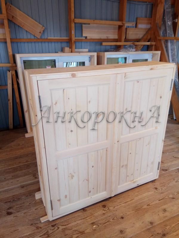 деревянные ставни фото в СПб