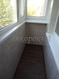 обшивка балкона в СПб фото