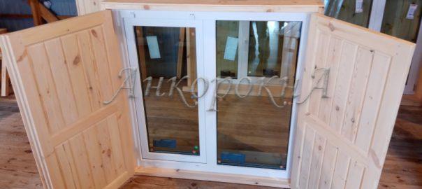 фото ставни на окна в Ленобласти