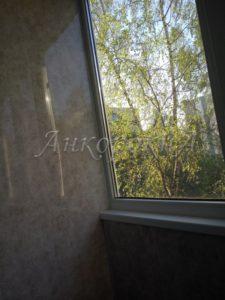 отделка балкона в СПб фото