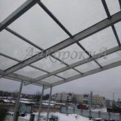 веранда с крышей поликарбонат фото Ленобласть
