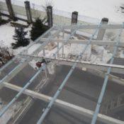 поликарбонат для крыши балкона фото