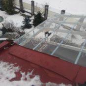 установка крыши на балконе фото Ленобласть