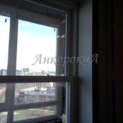 установка вертикального окна фото