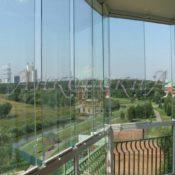 Замена панорамного остекления фото