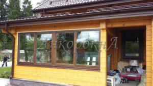 деревянные окна и двери в Ленобласти фото
