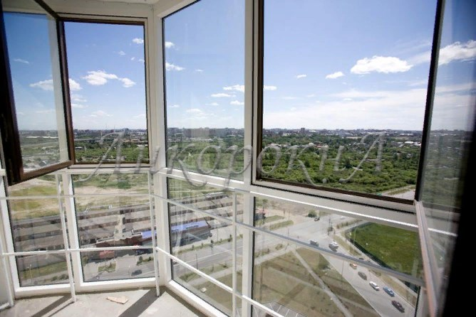 фото панорамного остекления