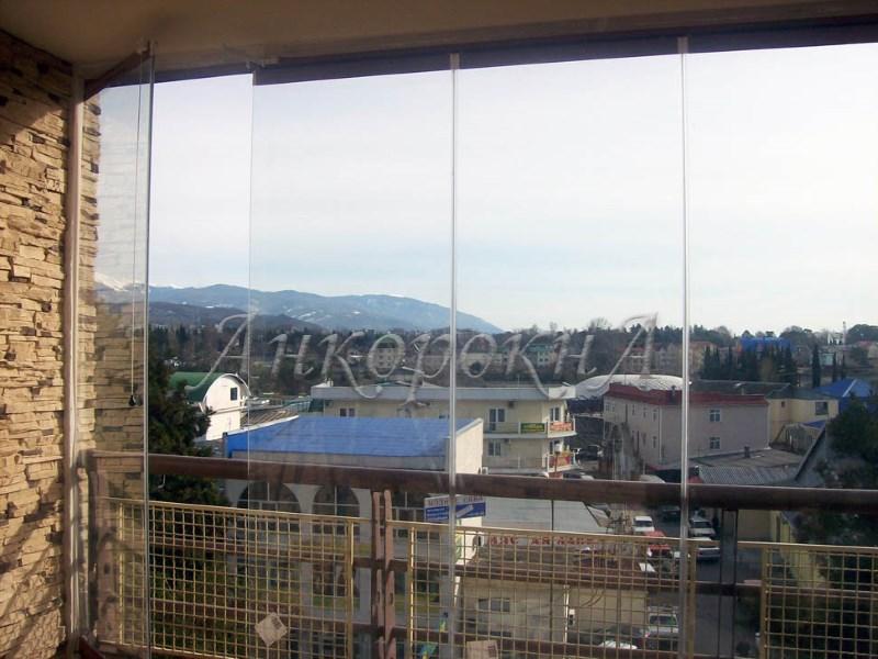 остеклить окна без рам фото