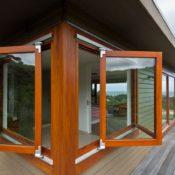 Раздвижные деревянные окна фото