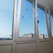 Пластиковое остекление балконов фото