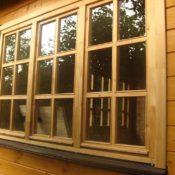 Деревянные окна для дачи фото